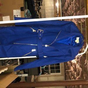 Michael Kors royal blue wool jacket size xs
